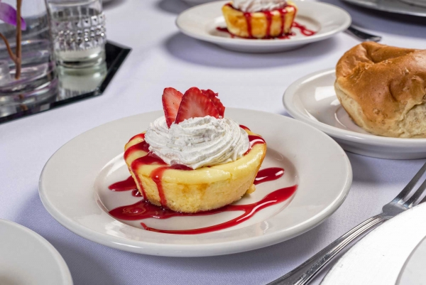 Light Strawberry Pound Cake from Catering by Norris