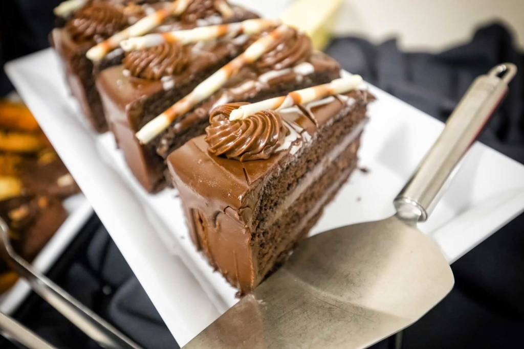 Decadent Chocolate Cake from Catering by Norris