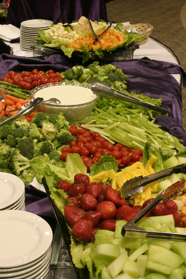 Have Catering by Norris build a fantastic Fruit and Vegetable Display for your next party or event