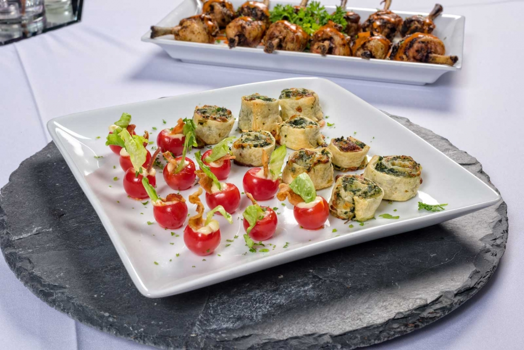 Catering by Norris delivers amazing, creative appetizers and hor d'oeuvres for parties, weddings, dinners and all social occasions